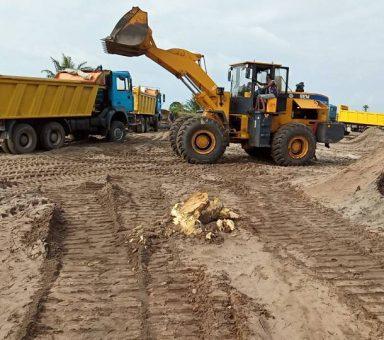 2008 Fountain Construction Company 700,000cm of Sand @ Sagbama -Ekeremo Road