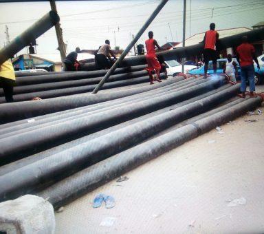 2008 Work for Anchog Nig Ltd at Otueke Otabula Road by Bayelsa Gov