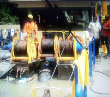 2005 Work for Rockson Enginerring at Okolobiri